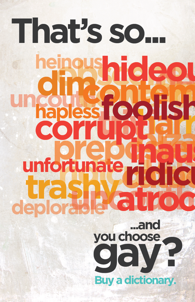 Words Matter: Check out this terrific anti-bullying campaign and ...